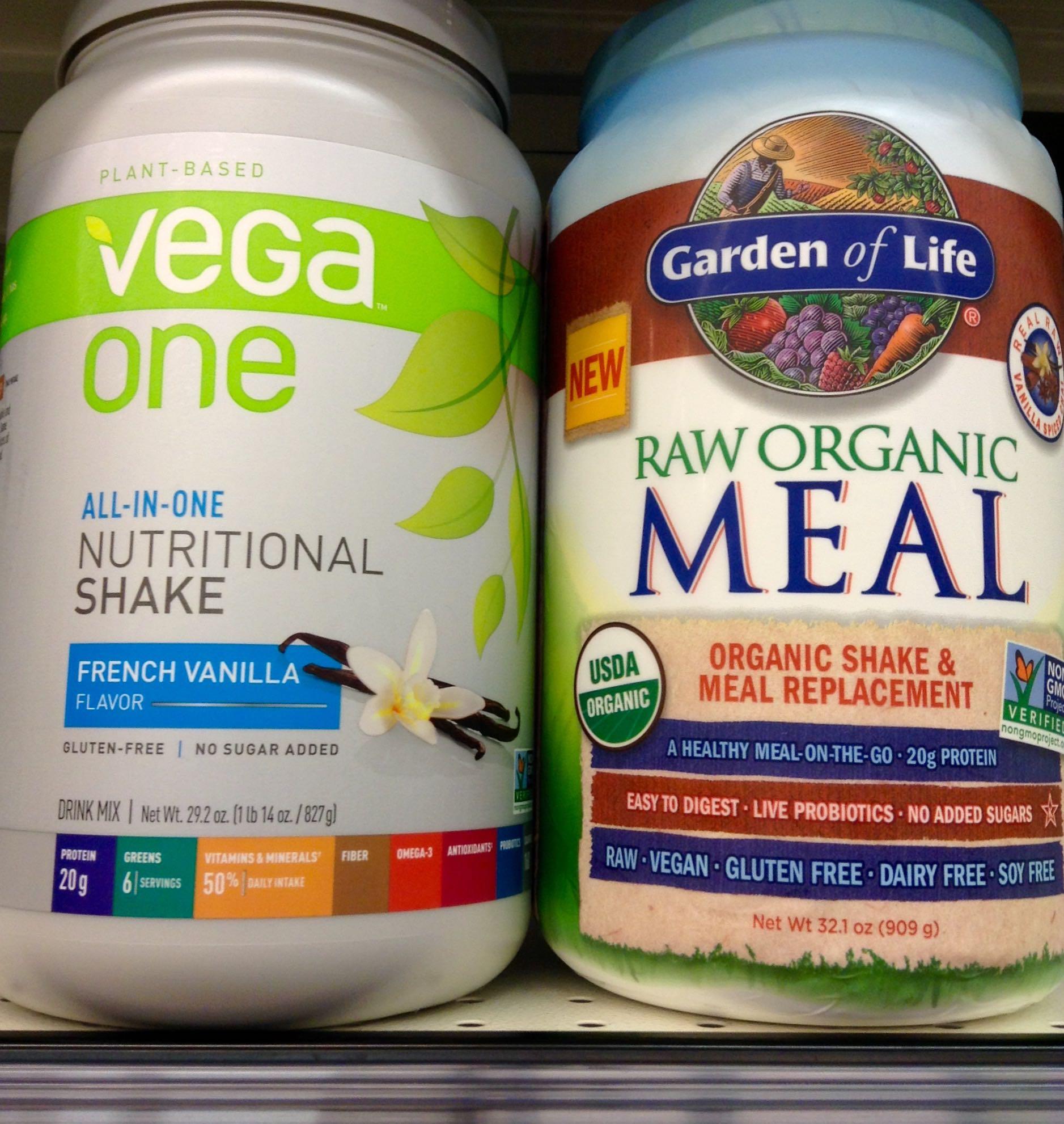Raw Meal vs. Vega One