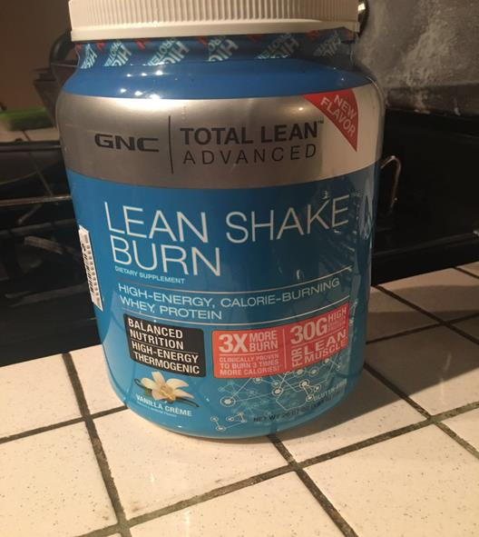 Total Lean Shake Burn Review By Gnc Supplement Reviews Comparison Hub