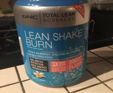 Total Lean Shake Burn Review by GNC