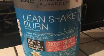 Total Lean Shake Burn Review by GNC