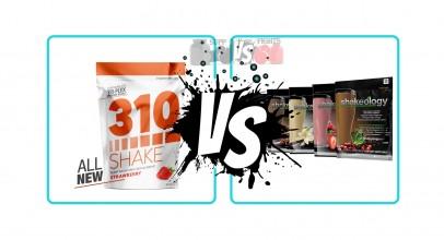310 Nutrition Shake vs. Shakeology
