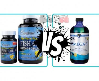 Supplement reviews comparison hub for Salmon oil vs fish oil