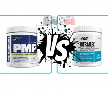 GAT PMP vs. Nitraflex