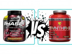 MuscleTech Phase 8  VS BSN Syntha 6