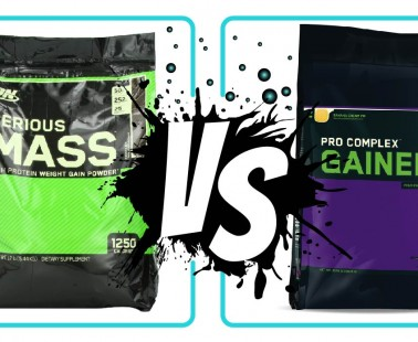 Serious Mass vs Pro Complex Gainer