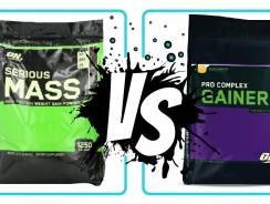 Serious Mass vs Pro Complex Gainer