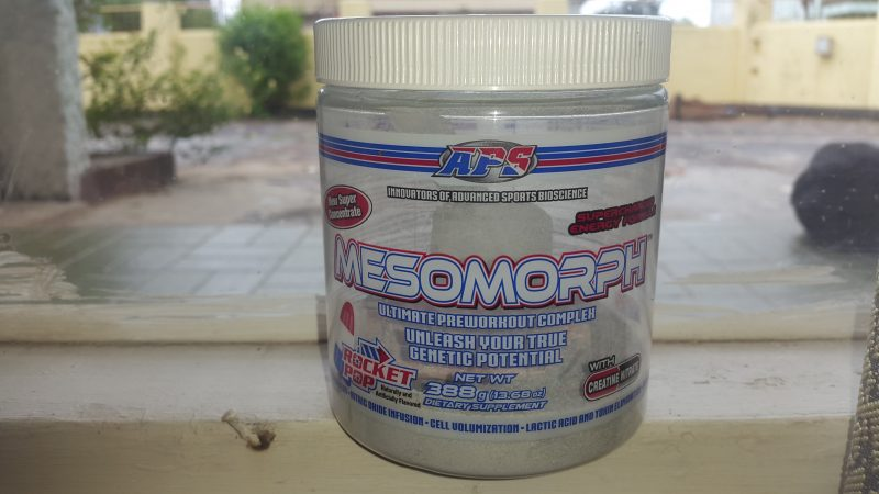 APS Nutrition Mesomorph review