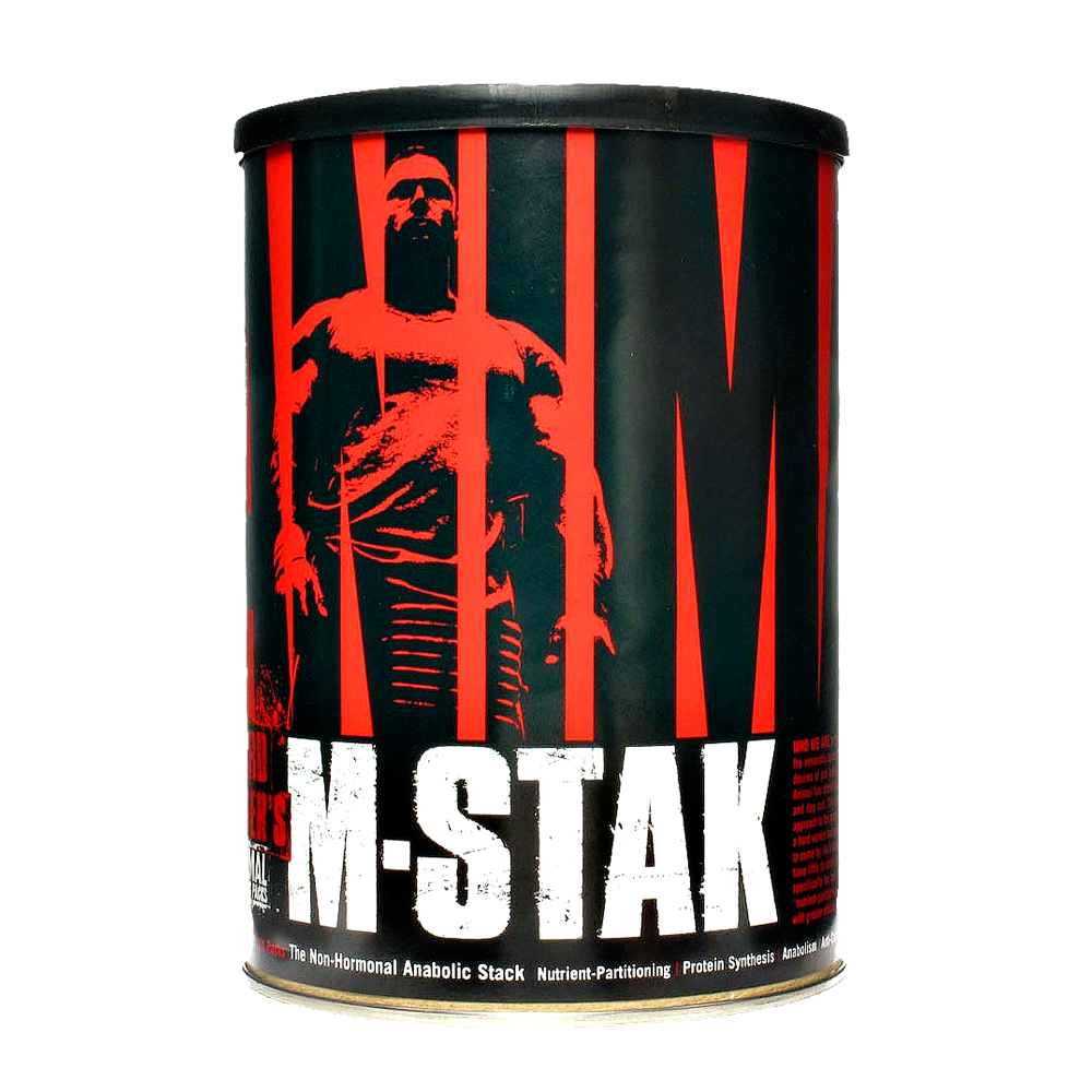 universal animal m-stak is a steroid