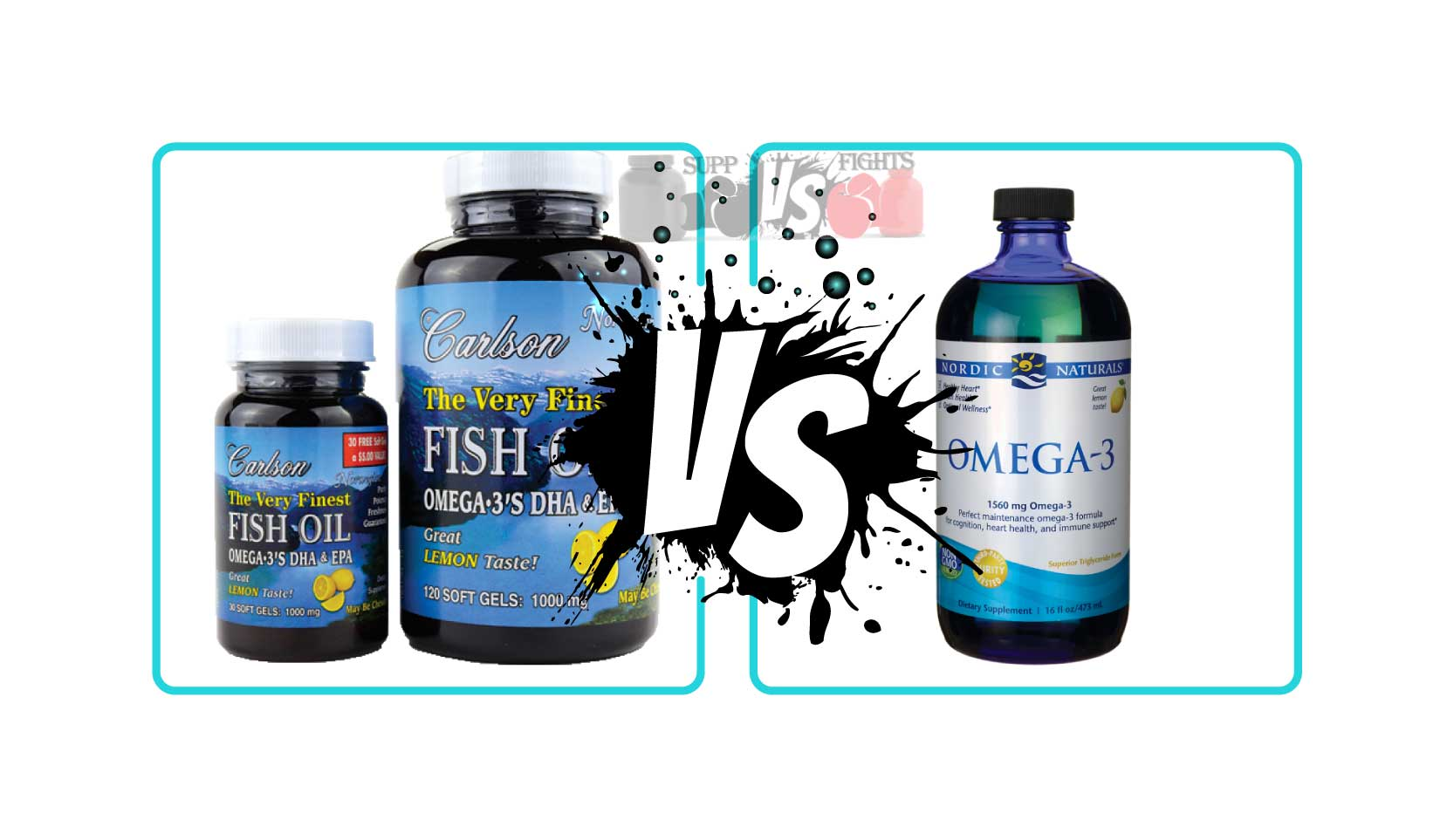 Carlson labs fish oil vs nordic naturals fish oil for Why do people take fish oil