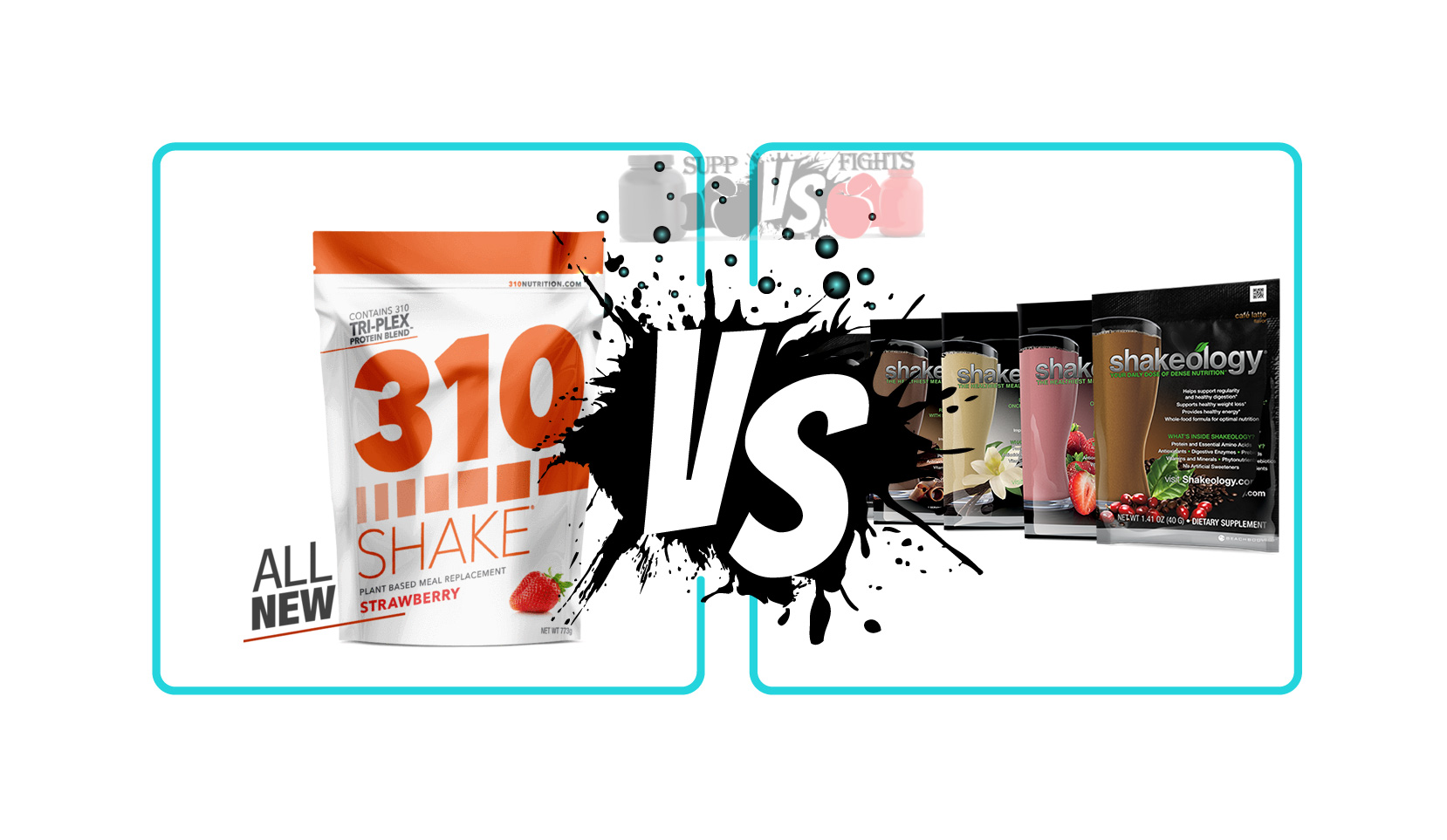 310 Nutrition Shake vs  Shakeology Supplement Reviews