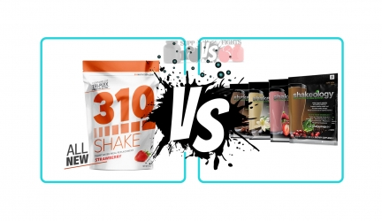 310 Nutrition Shake vs. Shakeology