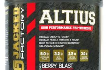 ALTIUS Pre-Workout Review: Jacked Factory