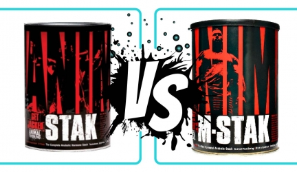 Animal Stak vs M Stak