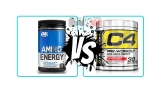 O.N. Amino Energy vs. Cellucor C4