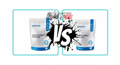 Impact Whey Protein Blend vs. Impact Whey Isolate Protein
