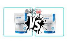 Impact Whey Protein Blend vs. Impact Whey Isolate Protein