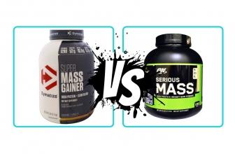 Super Mass Gainer VS Serious Mass