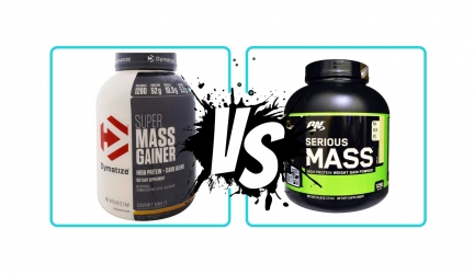 Super Mass Gainer VS Serious Mass