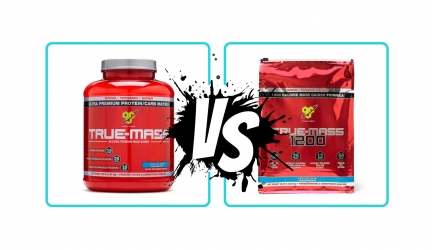 True Mass vs True Mass 1200