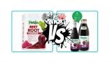 Beetroot Powder vs Juice