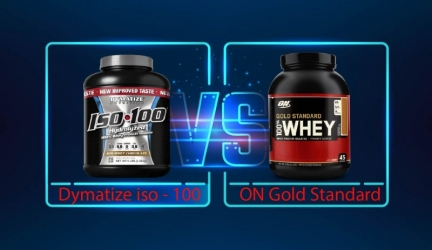 Dymatize ISO-100 vs Gold Standard