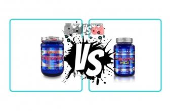 Creatine Monohydrate vs Creatine HCL