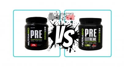 Nutrabio Pre vs. Nutrabio Pre Extreme