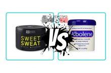 Sweet Sweat vs. Albolene