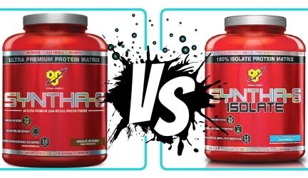 Syntha 6 vs Syntha 6 isolate